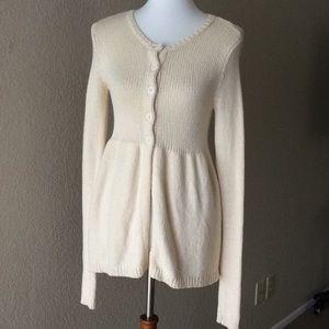Vince Cashmere wool blend Cream Sweater